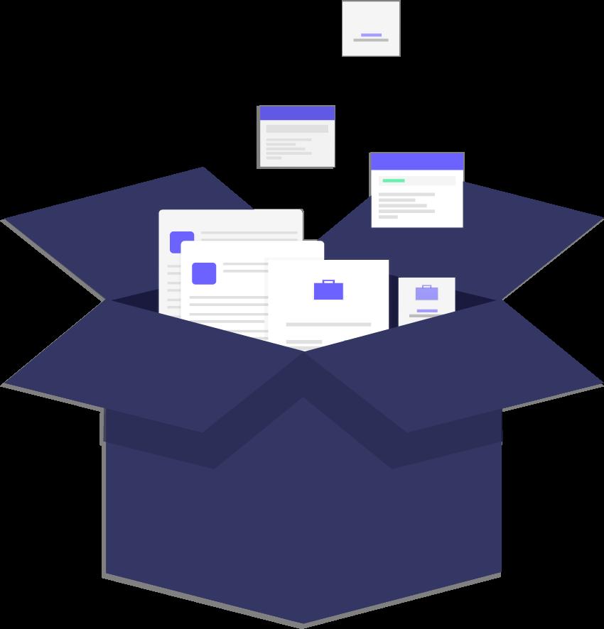 box Chats de tu empresa en un solo lugar - Plataforma multiagente